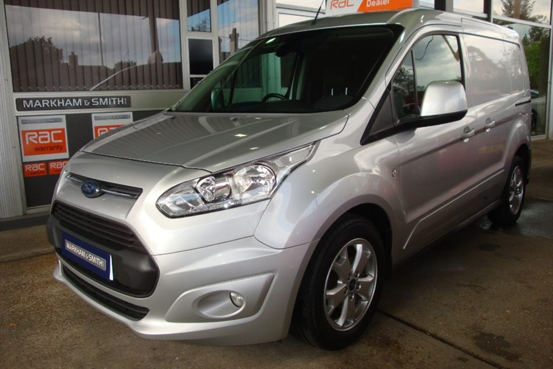 used Ford Transit Connect 200 LIMITED P/V     2 Owners + 67, 030 + Heated Screen + Bluetooth + Heated Seat in witham-essex