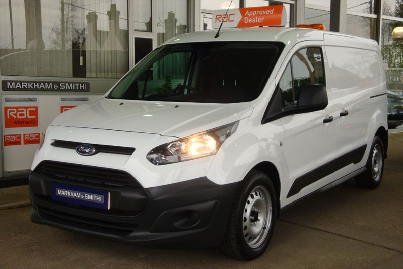 used Ford Transit Connect 240 P/V LWB L2 1 OWNER 60,577 FULL SERVICE HISTORY 5 STAMPS IN THE BOOK VVG in witham-essex