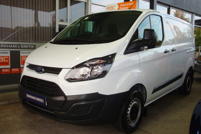 used Ford Transit Custom 290 LR P/V L1 55,205 + 1 Company Owned From New in witham-essex