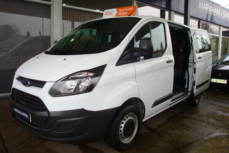 used Ford Transit Custom 290 LR DCB  L1  105 PS  Low roof  Crew Cab in witham-essex