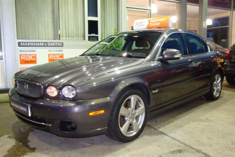used Jaguar X-Type SOVEREIGN 2.2 Diesel (Sat-Nav + Bluetooth+ Full Heated Leather+Full History in witham-essex