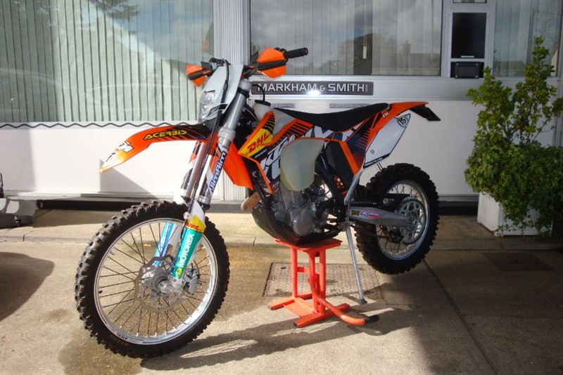 used KTM EXC  450 EXC 13 EFI   LOW HOURS 102 Really lovely condition always serviced  in witham-essex