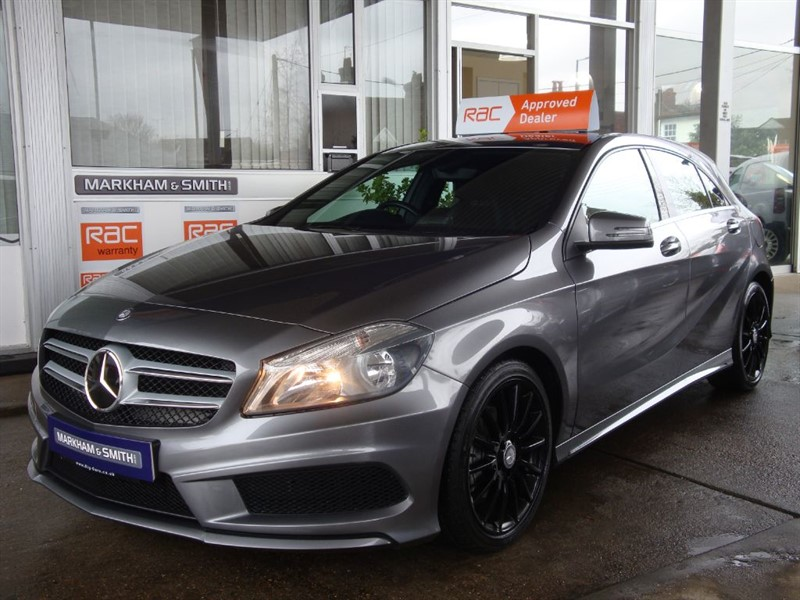 used Mercedes A180 CDI BLUEEFFICIENCY AMG SPORT  FULL MB SERVICE HISTORY PLUS JUST SERVICED VVGC in witham-essex