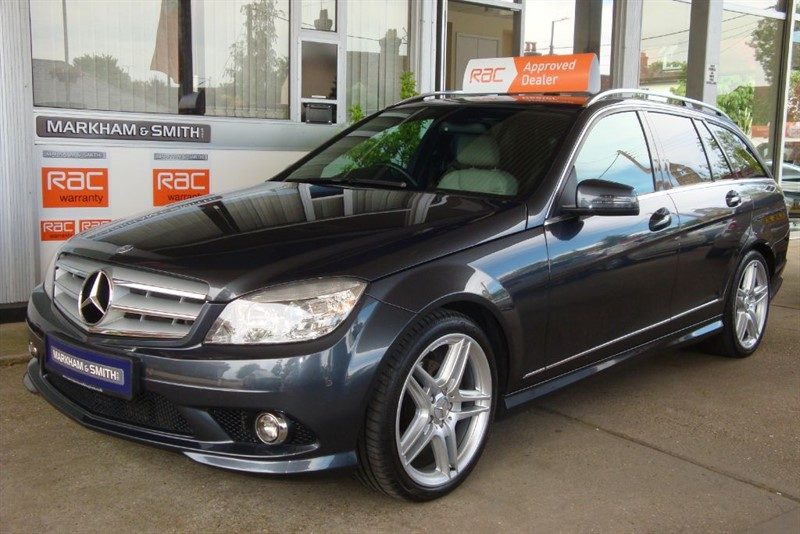 used Mercedes C220 CDI SPORT  SAT-NAV +  HEATED LEATHER MB SERVICE HISTORY PLUS JUST SERVICED  in witham-essex