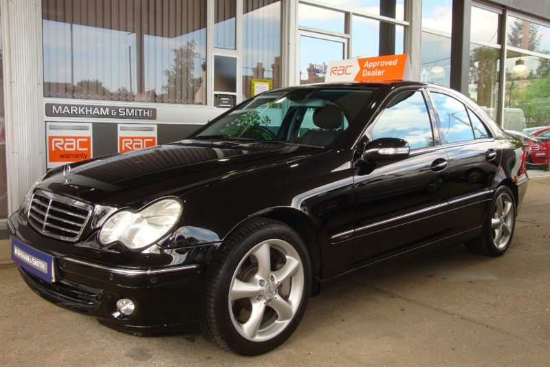 used Mercedes C350 AVANTGARDE SE FULL MERCEDES BENZ SERVICE HISTORY ALL PAST INVOICES MERCEDES COLCHESTER + WITHAM in witham-essex
