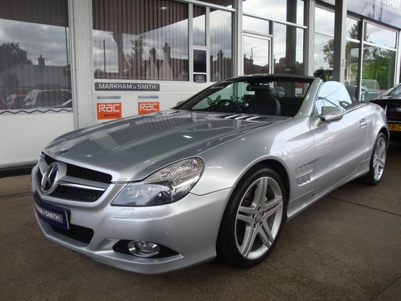 used Mercedes SL SL 350 (facelift model) High Spec in witham-essex