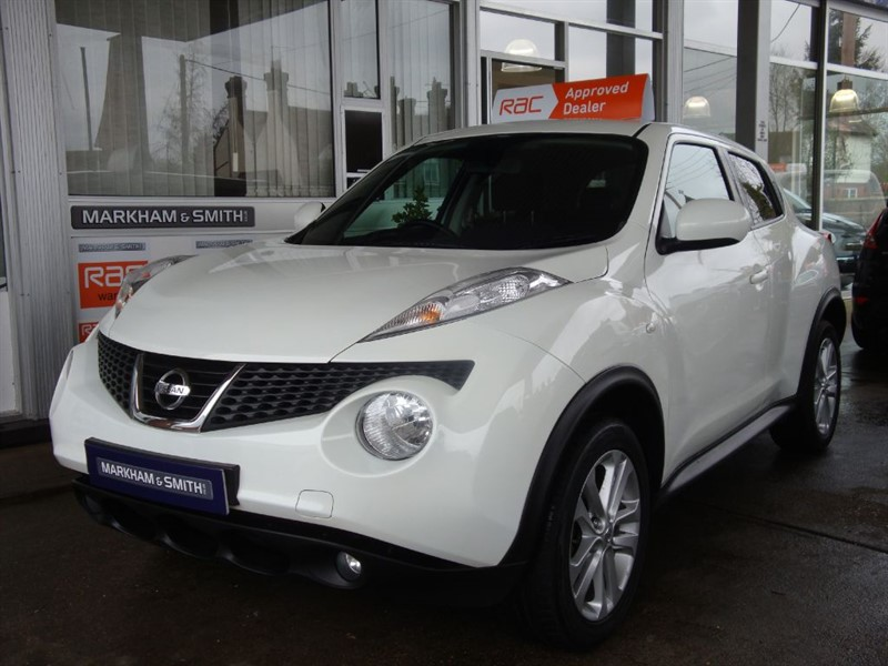 used Nissan Juke ACENTA PREMIUM One Lady Owner  Full Nissan (GLYN HOPKIN  SERVICE HISTORY)   in witham-essex