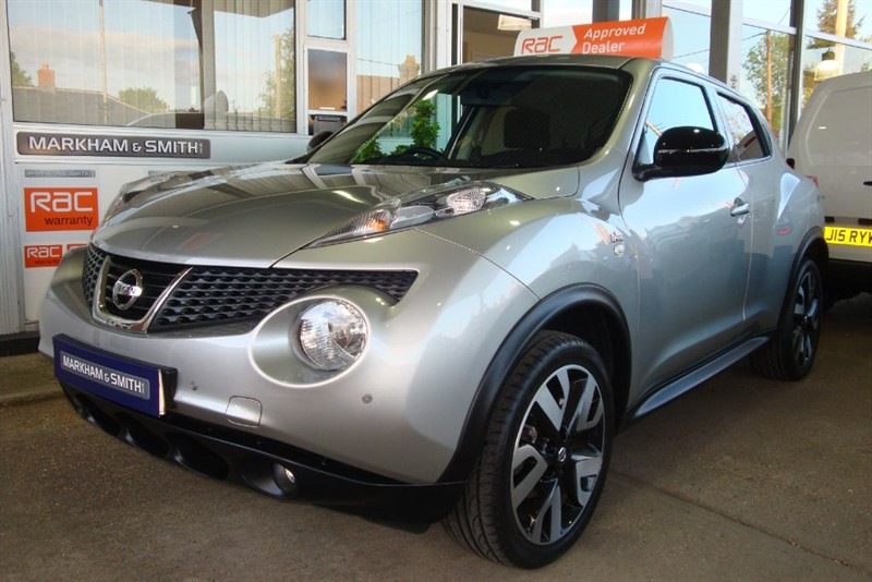used Nissan Juke N-TEC (High Spec) AUTOMATIC   32,535 Glyn Hopkin Nissan Service History in witham-essex