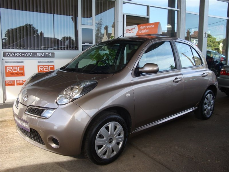 used Nissan Micra ACENTA 1.4 Automatic  5dr FSH 6 STAMPS + INVOICES MOT 07/19  SPARE KEY INC in witham-essex