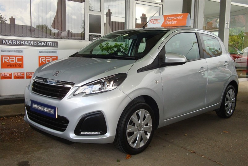 used Peugeot 108 ACTIVE Low Mileage  30,897 in witham-essex
