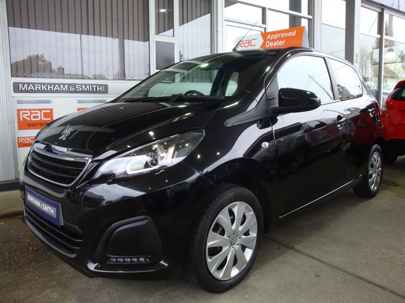 used Peugeot 108 ACTIVE 1 Owner Car + Super Low Mileage Just 5,508   Full Peugeot Main Agent Service History in witham-essex