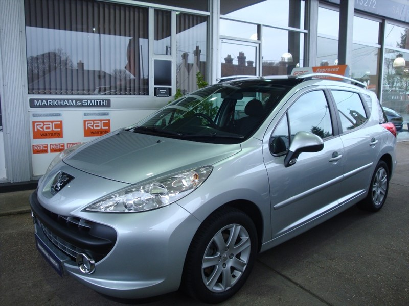used Peugeot 207 SW SPORT Low mileage 41,950 1.6 petrol Estate car +FSH + 2 Owners in witham-essex