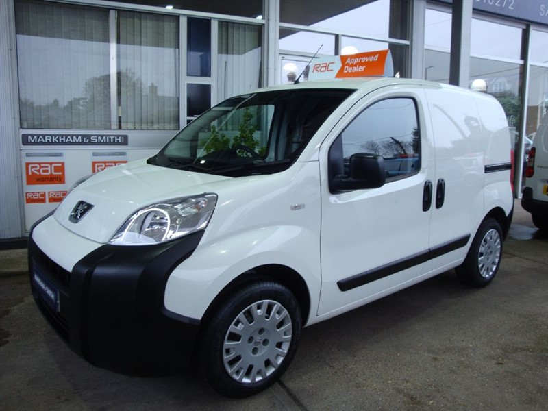 used Peugeot Bipper HDI PROFESSIONAL Low Mileage 39,006 1 Owner Van  A/C + Bluetooth + Aux In   in witham-essex