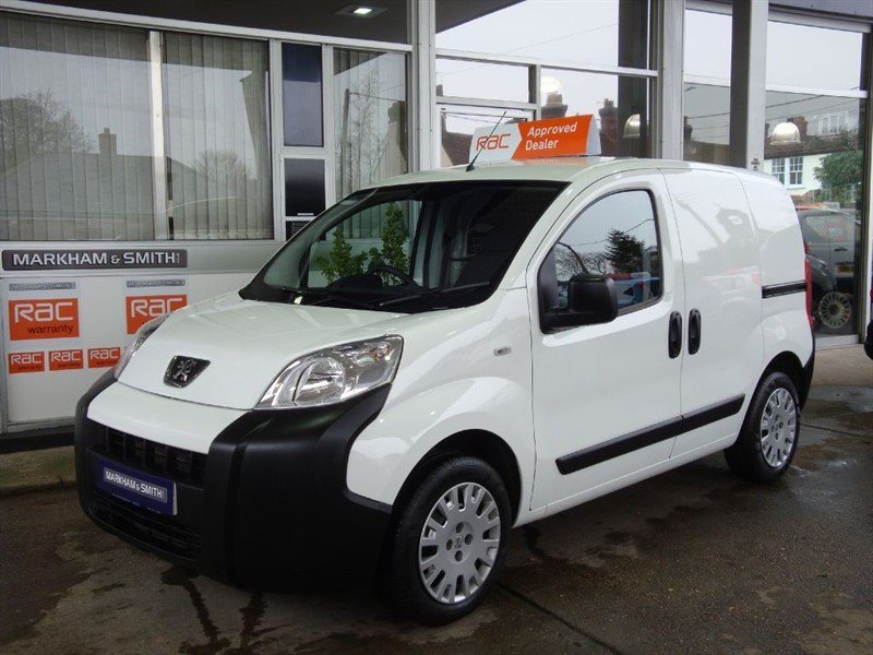 used Peugeot Bipper HDI PROFESSIONAL + Bluetooth + Aircon + USB , 1 OWNER VAN FROM NEW  +++++++ in witham-essex