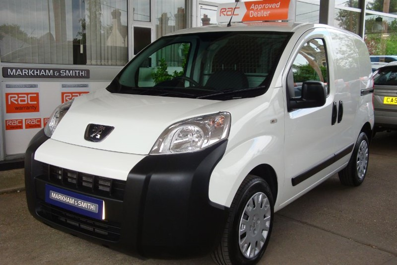 used Peugeot Bipper HDI PROFESSIONAL 1 Owner (Peugeot)  Low Mileage 37,225 Full Service History in witham-essex
