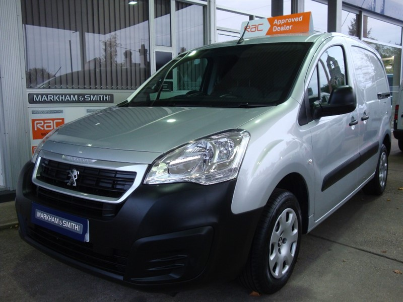 used Peugeot Partner BLUE HDI PROFESSIONAL L1    One Owner  (Peugeot) 64,521 in witham-essex