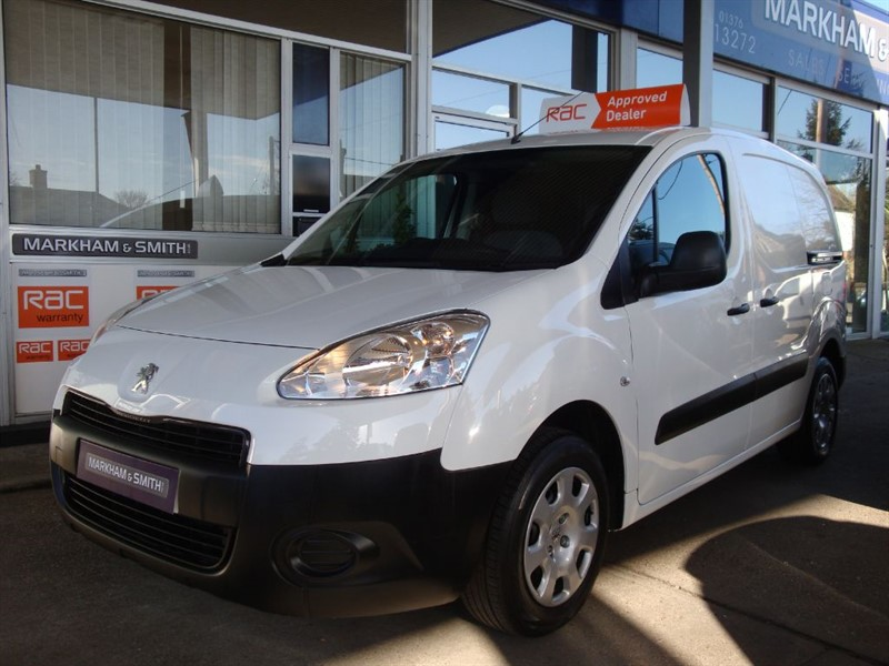 used Peugeot Partner HDI PROFESSIONAL L1 625  1 Owner (Peugeot)  FSH + Bluetooth + USB +  in witham-essex