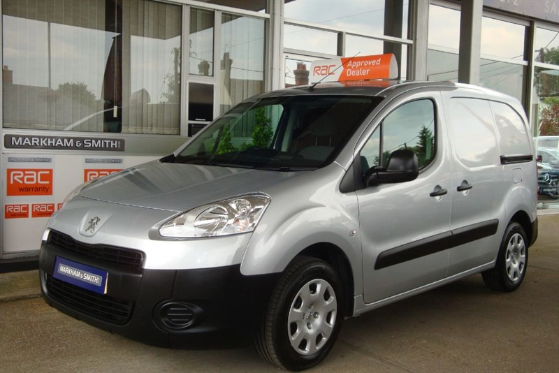 used Peugeot Partner HDI PROFESSIONAL L1 625 1 Owner (Peugeot) FSH  60,175  Just Serviced  VVGC in witham-essex