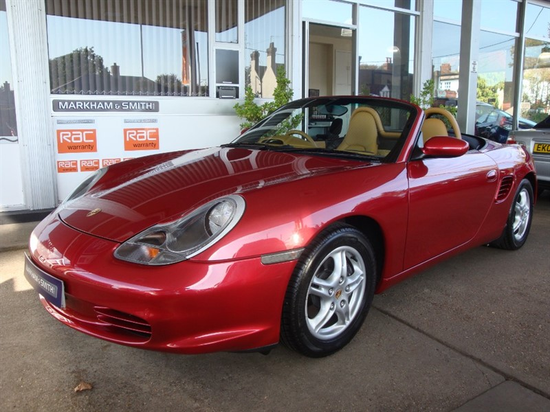 used Porsche Boxster 24V TIPTRONIC S Just 1 Former keeper + 32,413 From new + FPSH in witham-essex