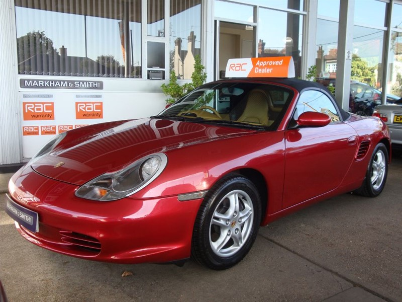 used Porsche Boxster 24V TIPTRONIC S One Lady Owner + 31,123 Fr in witham-essex