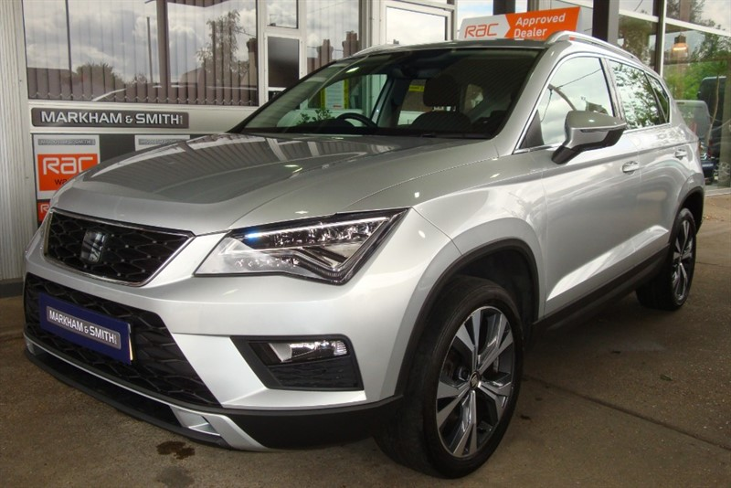 used SEAT Ateca TDI ECOMOTIVE SE TECHNOLOGY 1 Company Owned From New  22,430 + Full Seat Main Dealer S/history in witham-essex