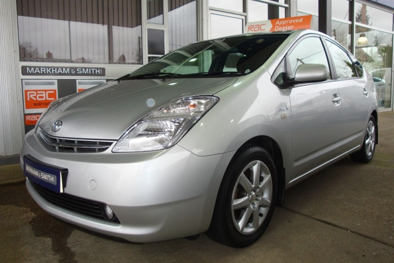 used Toyota Prius VVT-I T SPIRIT AUTO FULL TOYOTA MAIN DEALER SERVICE HISTORY (LOOKERS , LANCASTER & STEVEN EAGELL) in witham-essex