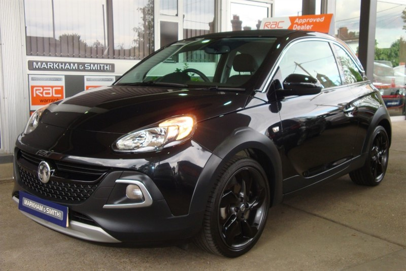 used Vauxhall Adam ROCKS AIR 1 Owner 18,880 Full Vauxhall Service History 4 Stamps Last Serviced at 18,157 in witham-essex