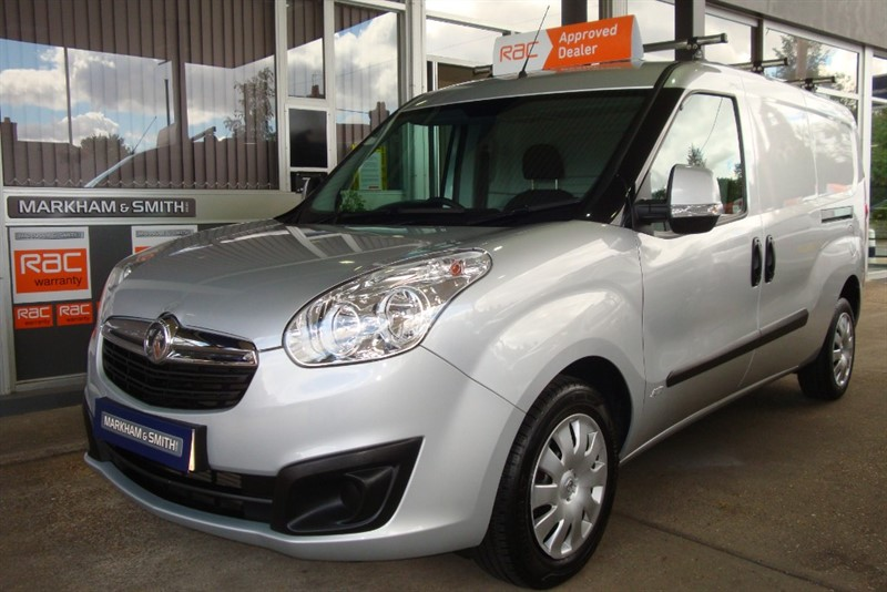 used Vauxhall Combo 2300 L2H1 CDTI S/S SPORTIVE E FLEX  JUST 18,644  + One Owner + Top Spec + Silver in witham-essex