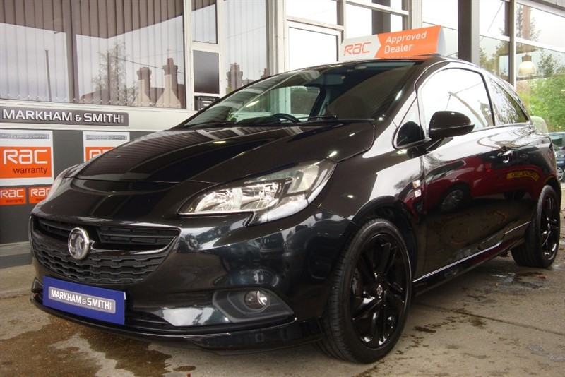 used Vauxhall Corsa LIMITED EDITION 3dr  Full Vauxhall Main Dealer Service History (Evans Halshaw Vauxhall)  3 Stamps in witham-essex