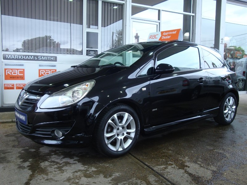 used Vauxhall Corsa SXI AC 16V  46,289  One Lady Owner FSH 11 + Service Stamps in witham-essex