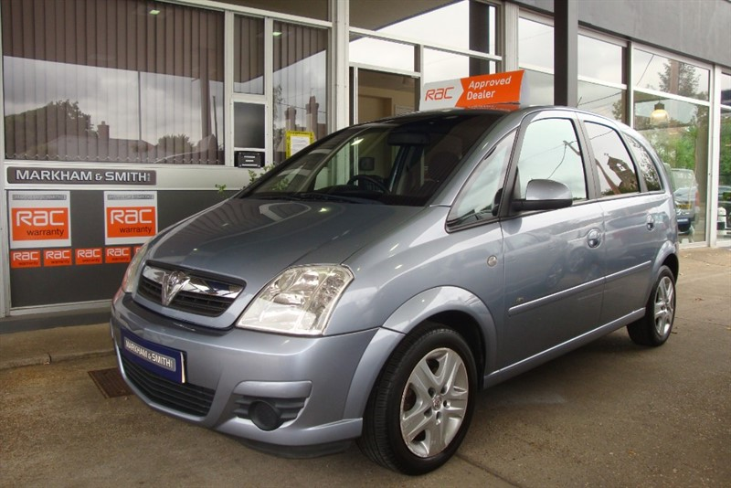 used Vauxhall Meriva ACTIVE  1 former keeper +  5 service stamps + just serviced in witham-essex