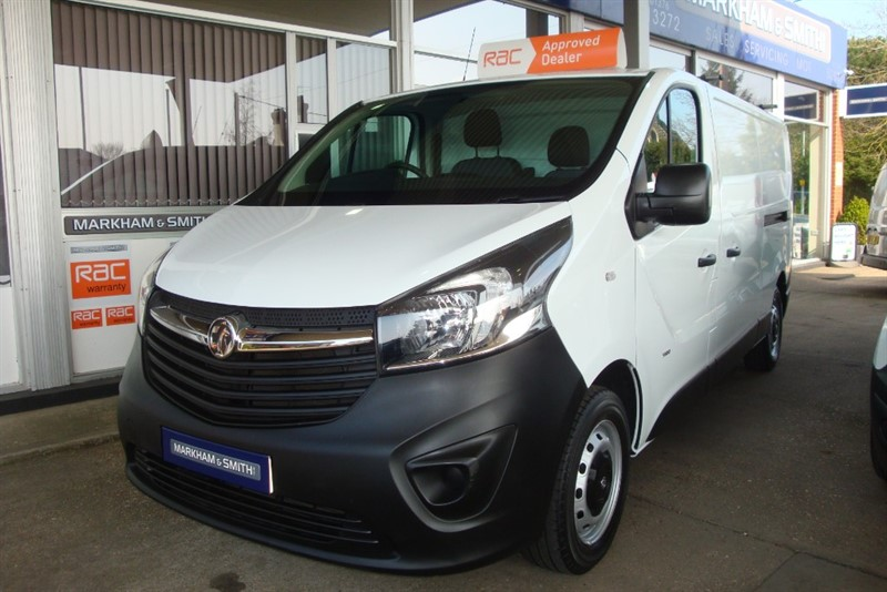 used Vauxhall Vivaro 2900 L2H1 CDTI P/V in witham-essex