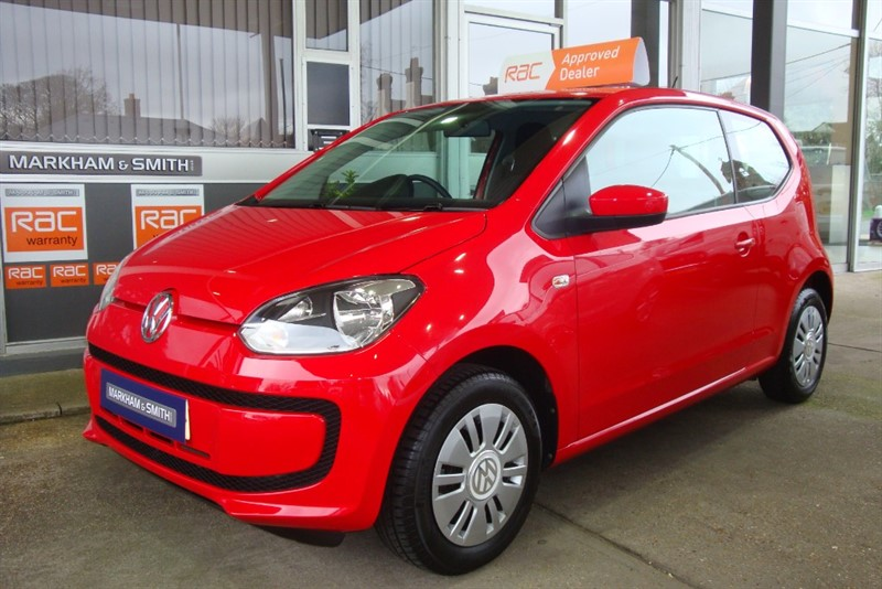 used VW Up MOVE UP 2 Owners + FSH 6 Service Stamps last serviced at 50,690  Low tax £20 Low Insurance in witham-essex