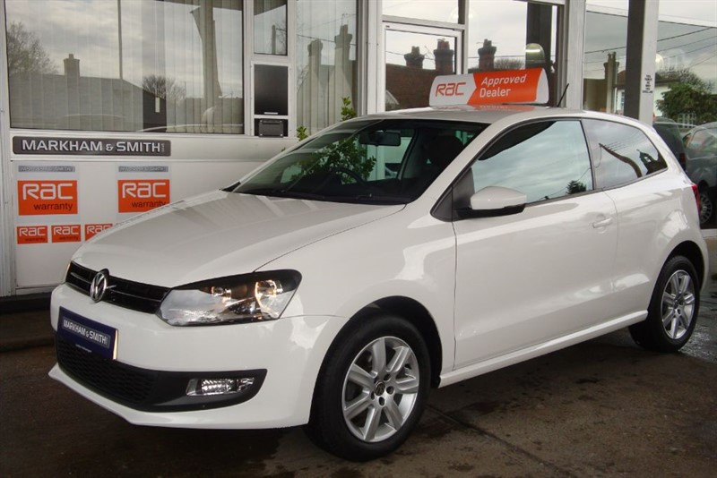 used VW Polo MATCH EDITION One Miss.... From New Low Mileage 23,161 Full VW Vindis s/his in witham-essex