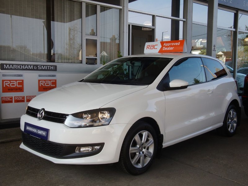 used VW Polo MATCH 60 3dr FULL VW MAIN AGENT SERVICE HISTORY 7 STAMPS  STUNNING CAR in witham-essex