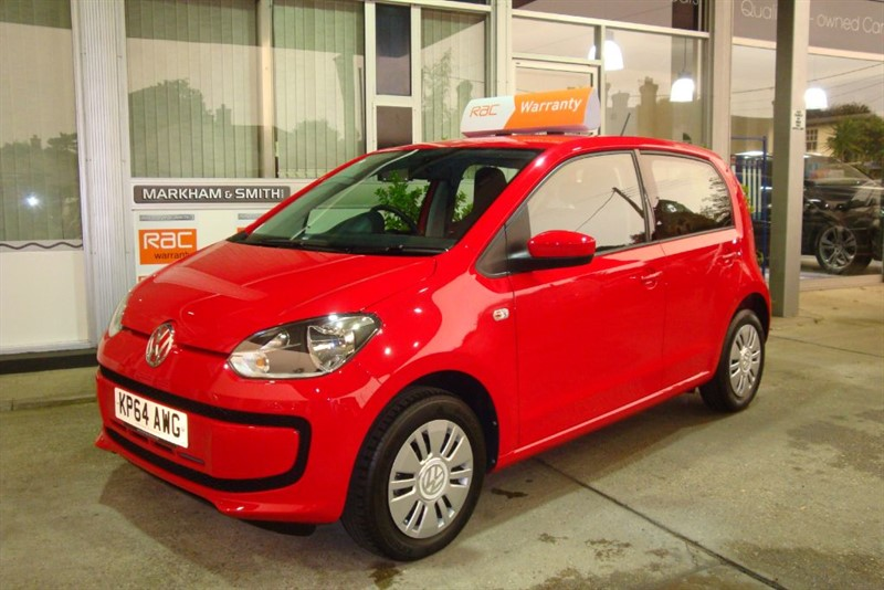 used VW Up MOVE UP FANTASTIC LOW MILEAGE +++  Full VW Service History (Lancaster VW)   in witham-essex