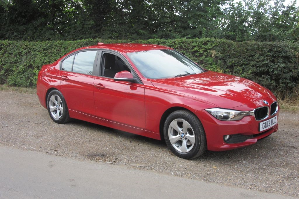 Used Melbourne Red Met Bmw 320d For Sale Suffolk