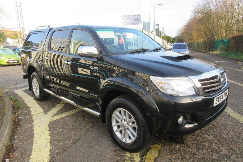 Used Black Toyota Hilux for Sale | Suffolk