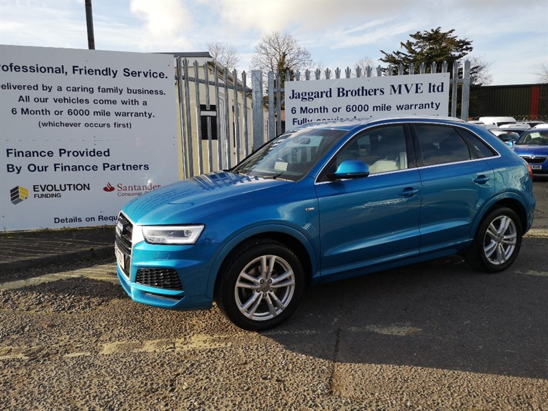 used Audi Q3 TFSI S LINE EDITION in Newmarket-Suffolk