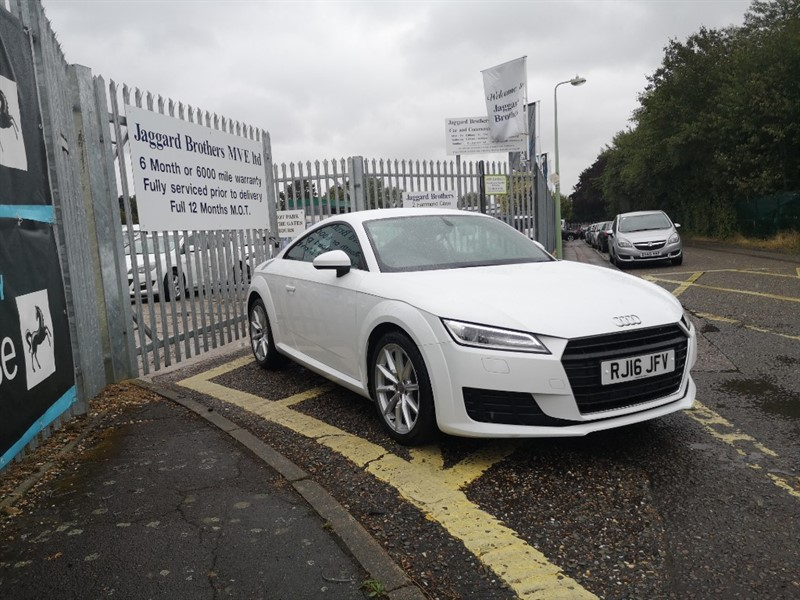 used Audi TT TFSI SPORT in Newmarket-Suffolk