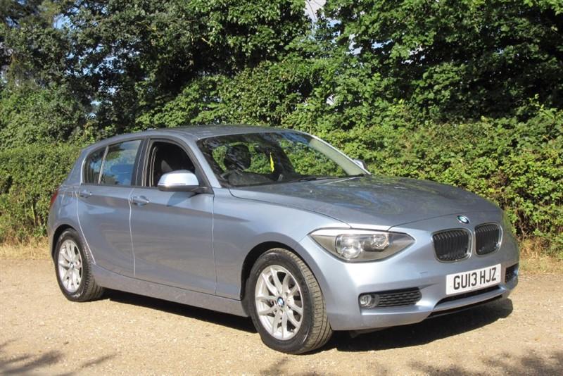 used BMW 116d EFFICIENTDYNAMICS in Newmarket-Suffolk