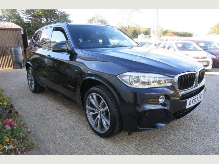 used BMW X5 XDRIVE30D M SPORT in Newmarket-Suffolk