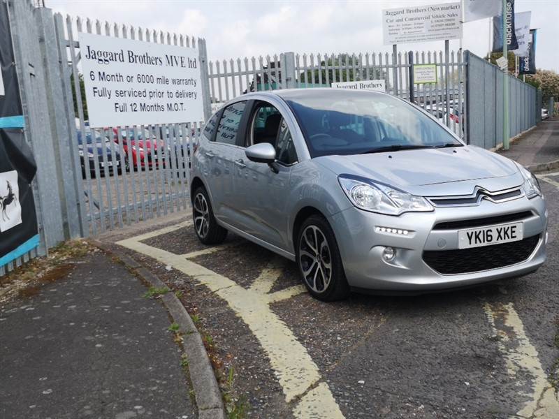 used Citroen C3 PURETECH PLATINUM ETG S/S in Newmarket-Suffolk