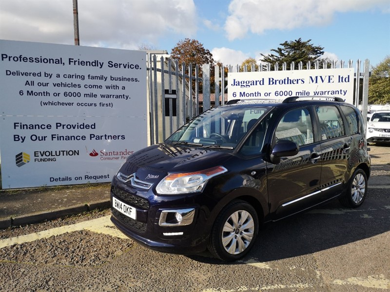 used Citroen C3 EXCLUSIVE EGS PICASSO in Newmarket-Suffolk