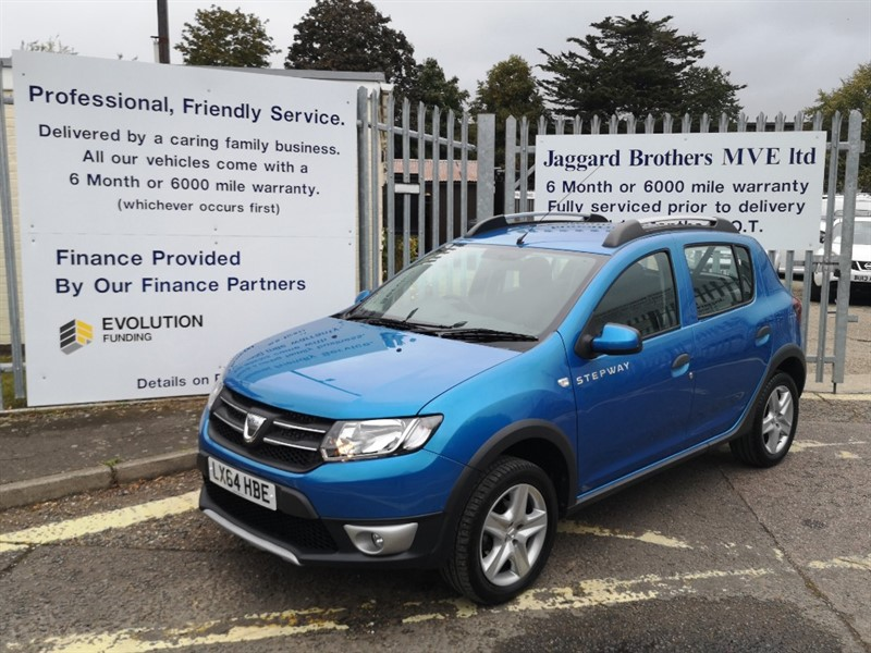 used Dacia Sandero STEPWAY LAUREATE TCE in Newmarket-Suffolk