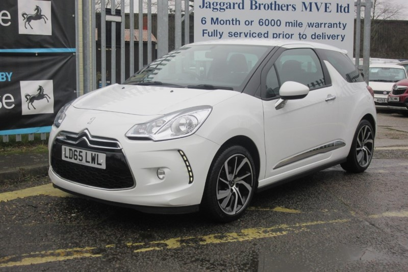 used Citroen DS3 3 PURETECH DSTYLE NAV S/S in Newmarket-Suffolk