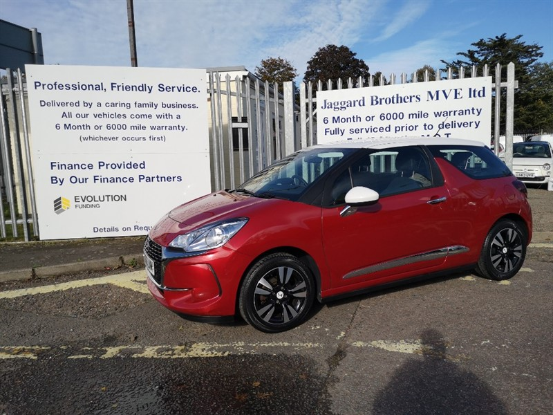 used Citroen DS3 PURETECH CHIC in Newmarket-Suffolk