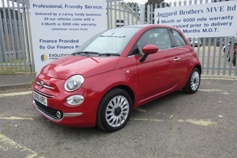 used Fiat 500 LOUNGE in Newmarket-Suffolk