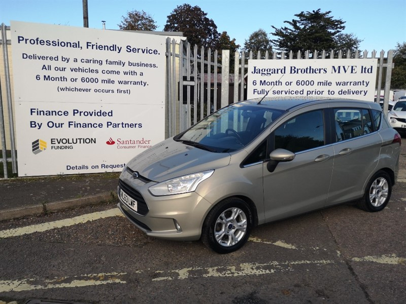 used Ford B-Max ZETEC TDCI in Newmarket-Suffolk