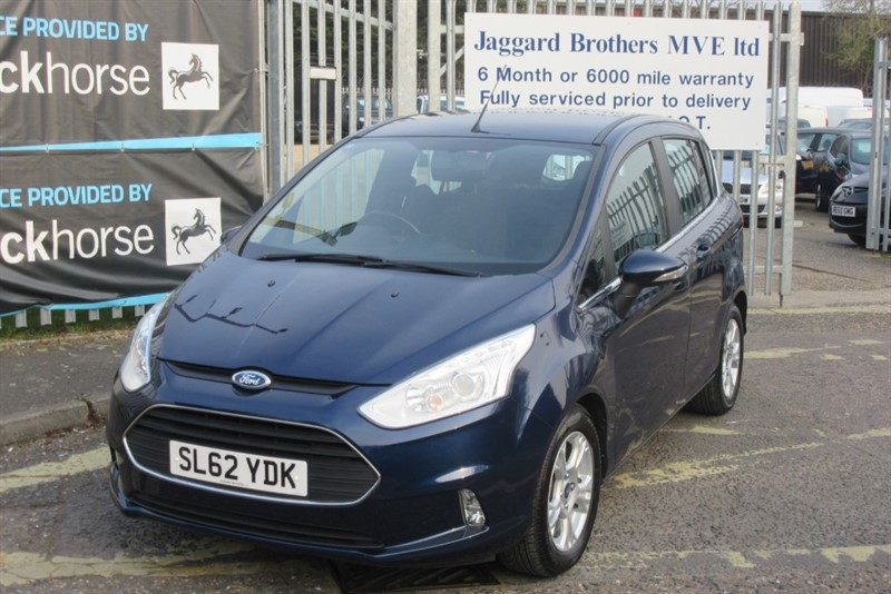 used Ford B-Max ZETEC in Newmarket-Suffolk